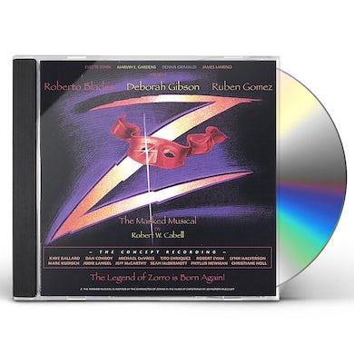 Deborah Gibson Z: MASKED MUSICAL OF ZORRO CD