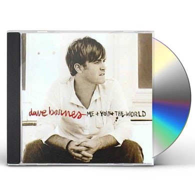 Dave Barnes Me And You And The World CD