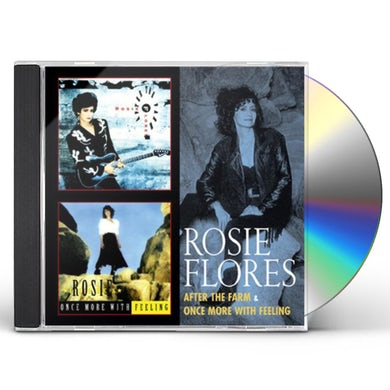 Rosie Flores AFTER THE FARM / ONCE MORE WITH FEELING CD