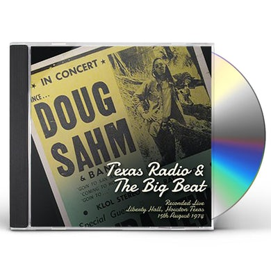 Doug Sahm TEXAS RADIO & THE BIG BEAT CD