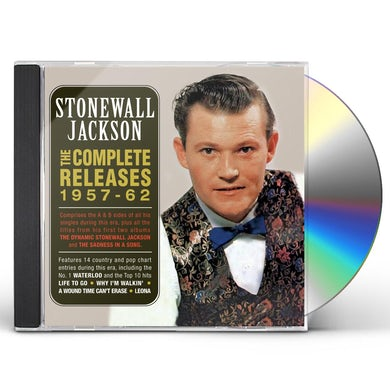 Stonewall Jackson COMPLETE RELEASES 1957-62 CD