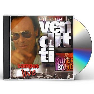 Antonello Venditti CAMPUS LIVE CD