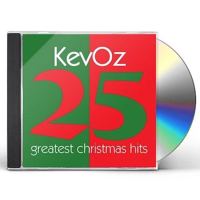 KevOz 25 GREATEST CHRISTMAS HITS CD