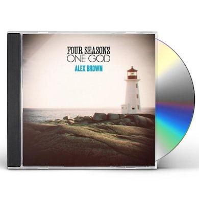 Alex Brown FOUR SEASONS ONE GOD CD
