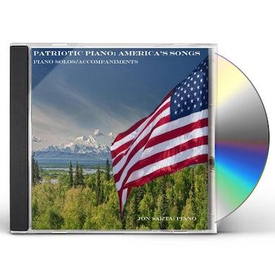 Jon Sarta PATRIOTIC PIANO CD