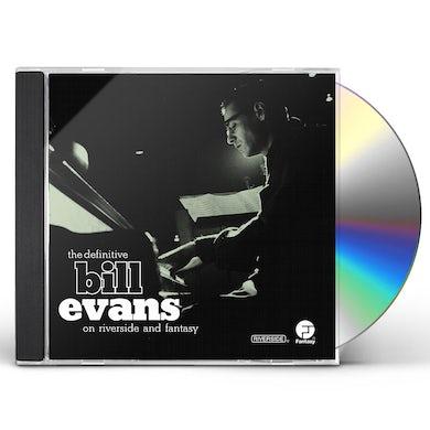 DEFINITIVE BILL EVANS ON RIVERSIDE & FANTASY CD