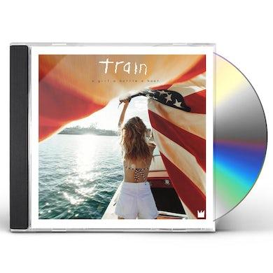 Train GIRL A BOTTLE A BOAT CD
