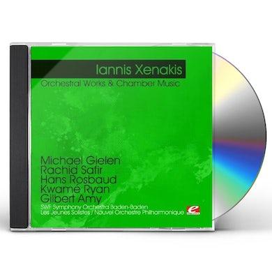 Iannis Xenakis XENAKIS: ORCHESTRAL WORKS & CHAMBER MUSIC CD