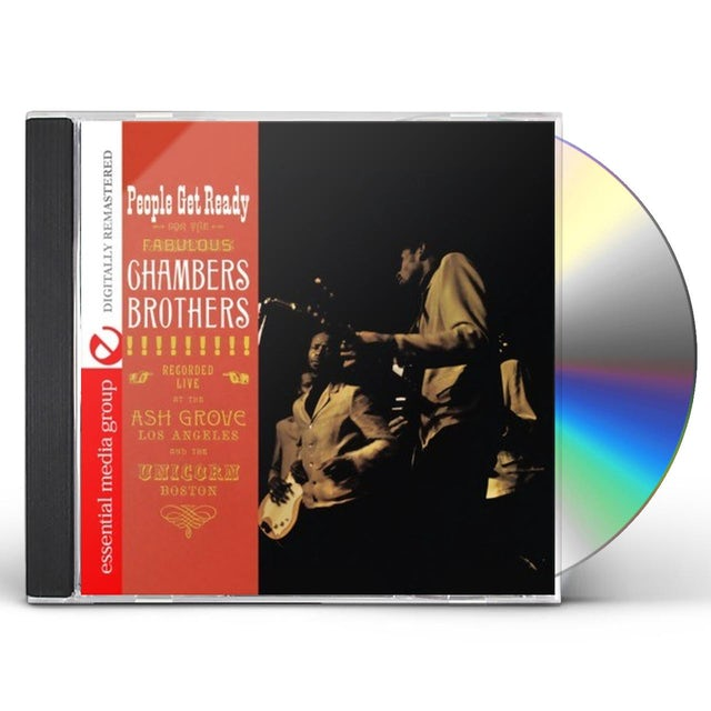 Chambers Brothers PEOPLE GET READY CD