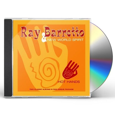 Ray Barretto HOT HANDS CD