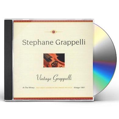 Stephane Grappelli VINTAGE GRAPPELLI CD