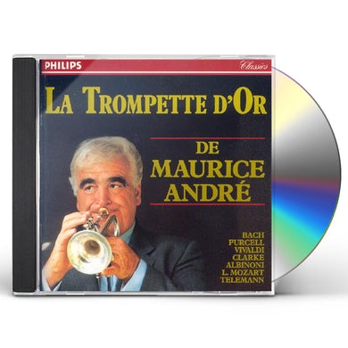 Maurice Andre OEUVRES BAROQUE POUR TROMPETTE CD