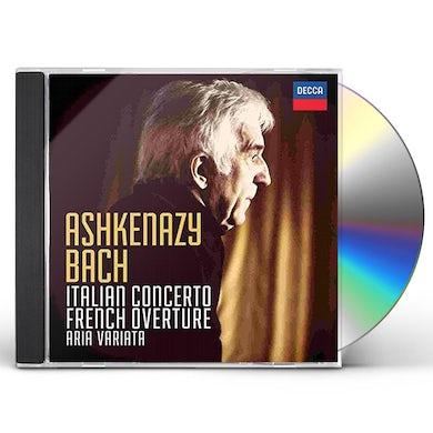 Vladimir Ashkenazy BACH J.S.: ITALIAN CONCERTO / FRENCH OVERTURE CD