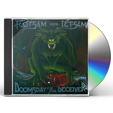 Flotsam & Jetsam DOOMSDAY FOR THE DECEIVER CD