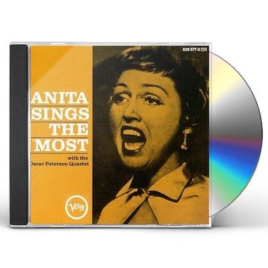 Anita O'Day ANITA SINGS THE MOST CD