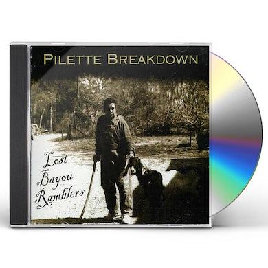 PILETTE BREAKDOWN CD