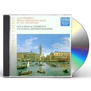 Schola Cantorum Basiliensis ITALIAN INSTRUMENTAL MUSIC CD