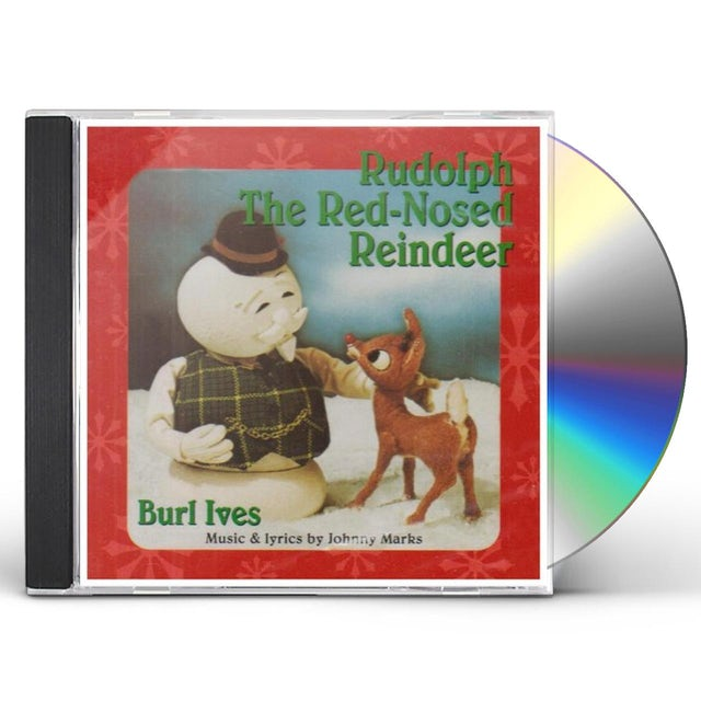 Burl Ives RUDOLPH THE RED-NOSED REINDEER CD