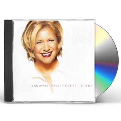 Sandi Patty ALL THE BEST: LIVE CD