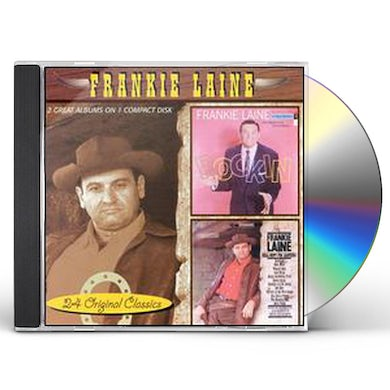 Frankie Laine ROCKIN / HELL BENT FOR LEATHER CD