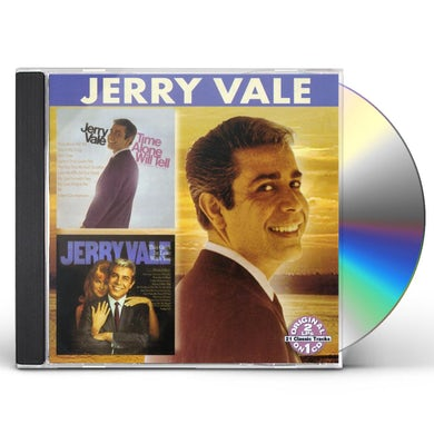 Jerry Vale TIME ALONE WILL TELL / THIS GUY'S IN LOVE WITH YO CD