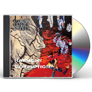 Napalm Death HARMONY CORRUPTION CD