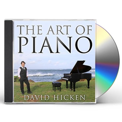 David Hicken ART OF PIANO CD