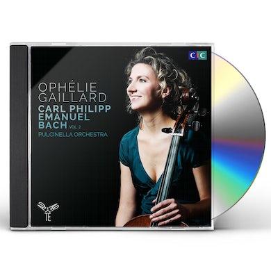 C.P.E. Bach CELLO CONCERTO, HARPSICHORD CONCERTO, SINFONIAS CD