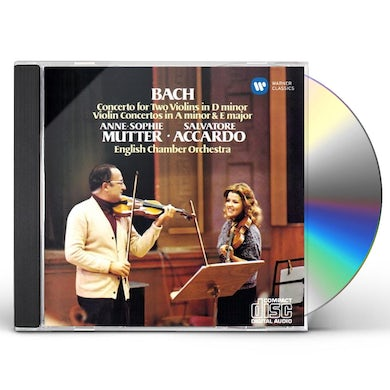 Anne-Sophie Mutter BACH: CONCERTO FOR TWO VIOLINS IN D CD