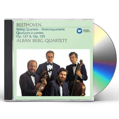 Alban Berg Quartett BEETHOVEN: STRING QUARTETS OP.127 CD