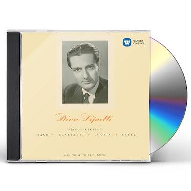 Dinu Lipatti PIANO RECITAL CD
