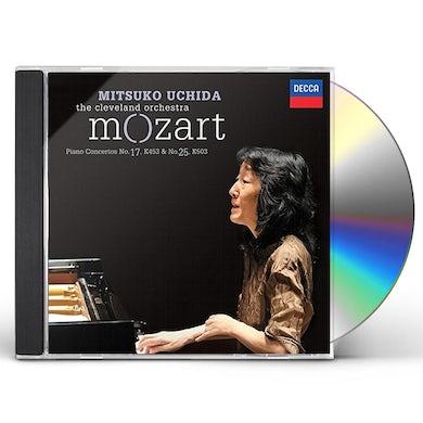 MOZART: PIANO CONCERTOS NOS.17 CD
