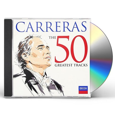 Jose Carreras CARRERAS THE GREATEST HITS 50 CD