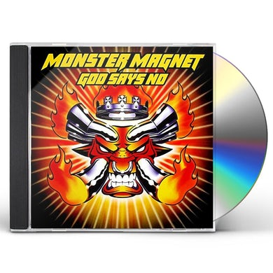 Monster Magnet GOD SAYS NO: DELUXE EDITION CD
