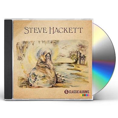 Steve Hackett 5 CLASSIC ALBUMS CD