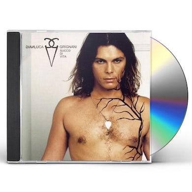 Gianluca Grignani SUCCO DI VITA: VERY BEST OF CD