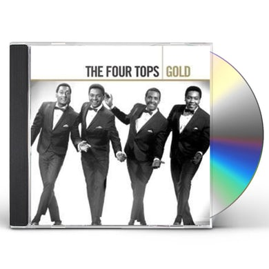 Four Tops GOLD CD