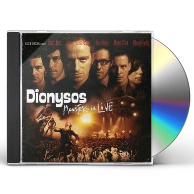 Dionysos MONSTER IN LIVE CD