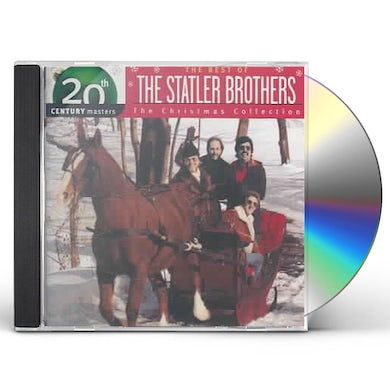 Statler Brothers CHRISTMAS COLLECTION: 20TH CENTURY MASTERS CD