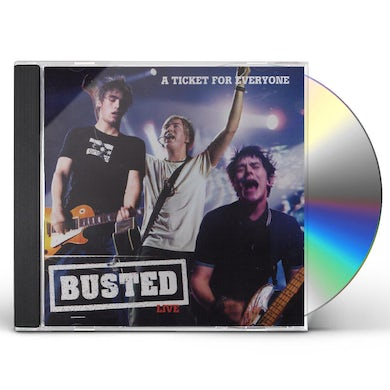 Busted LIVE-A TICKET FOR EVERYONE CD