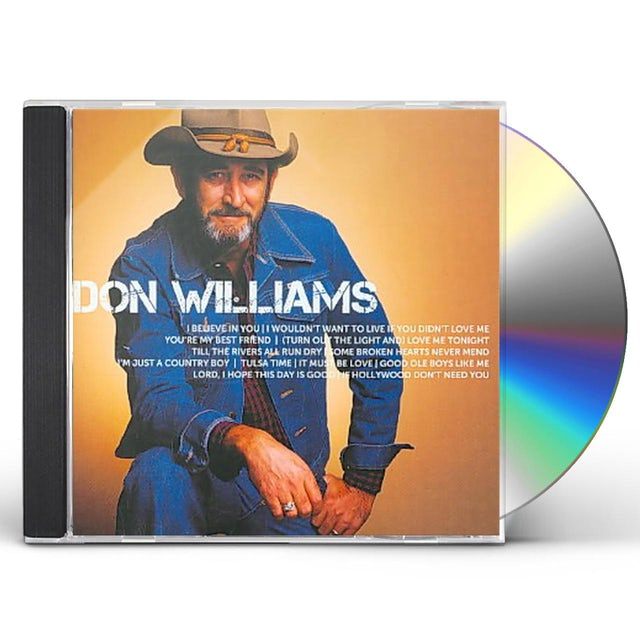 Don Williams ICON CD