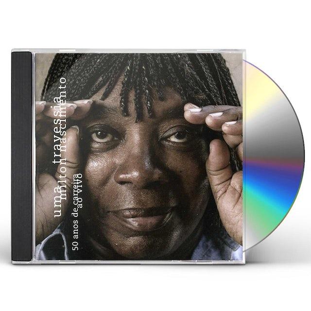 Milton Nascimento UMA TRAVESSIA 50 ANOS DE CARREIRA AO VIVO CD