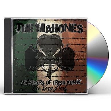 MAHONES 25 YEARS OF IRISH PUNK CD