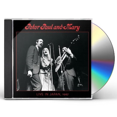 PETER PAUL & MARY: LIVE IN JAPAN 1967 CD