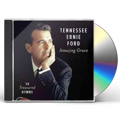 Tennessee Ernie Ford AMAZING GRACE: 14 TREASURED HYMNS CD