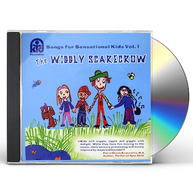 Coles Whalen SONGS FOR SENSATIONAL KIDS 1: WIGGLY SCARECROW CD