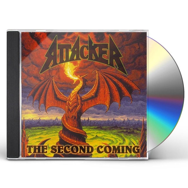 Attacker SECOND COMING CD
