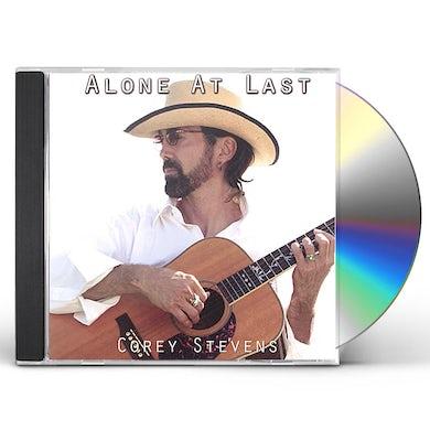 Corey Stevens ALONE AT LAST CD
