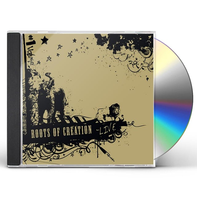 Roots Of Creation LIVE CD