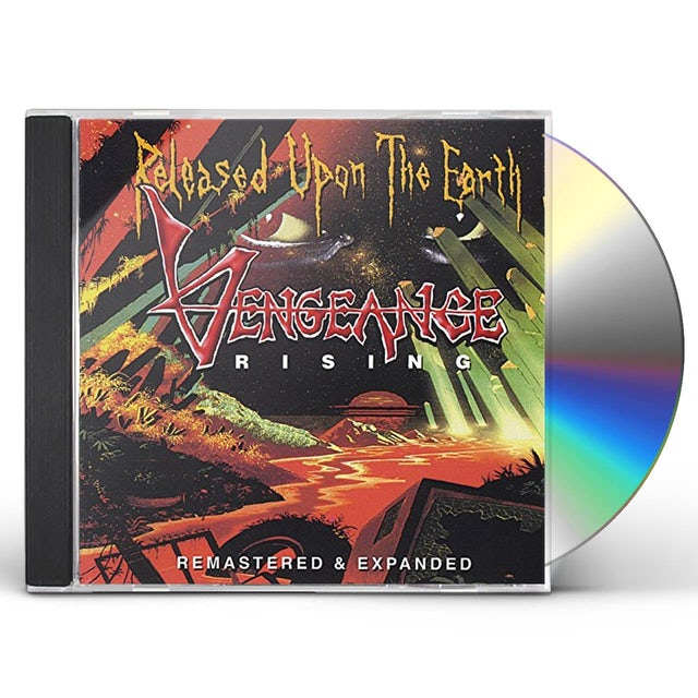 Vengeance Rising RELEASED UPON THE EARTH CD